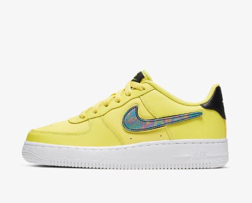 air force 1 nike gialla