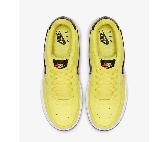 Ar7446 700 nike air force 1 gs giallo patch logo 4
