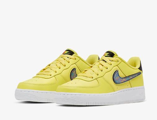 nike air force gialle