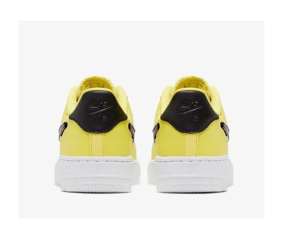 Ar7446 700 nike air force 1 gs giallo patch logo 6