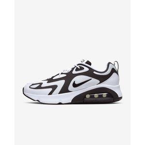Scarpa Nike Air Max 200 bianco nero uomo art. AQ2568 104