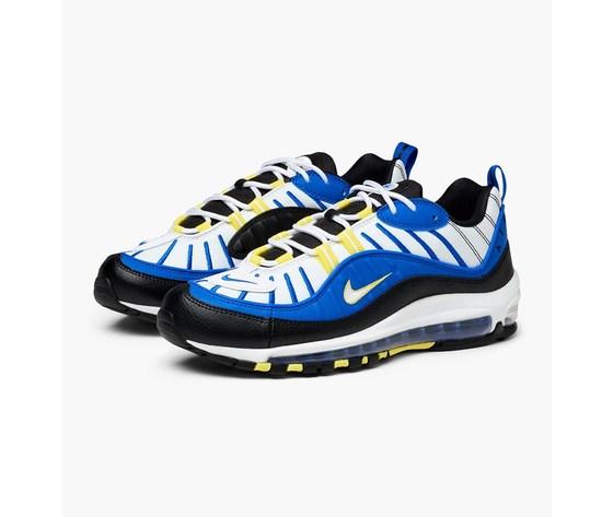 Nike air max 98 640744 400 racer blue white black dynamic 2