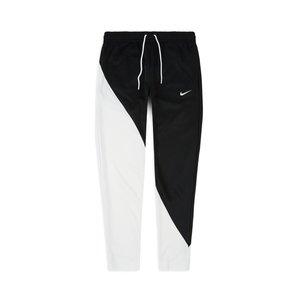 Pantaloni Nike Sportswear Swoosh tuta bicolore nero e bianco con stampa uomo art. BV5289 010