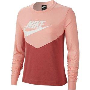 Maglia sportiva Nike manica lunga rosa cipria  donna art. BV5007 897