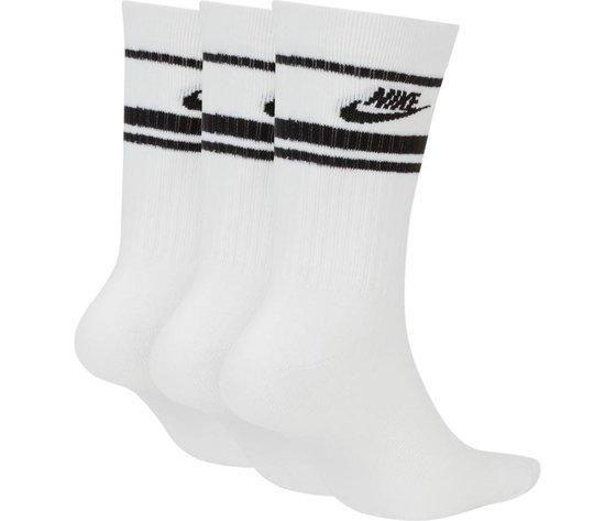 Cq0301 103 nike calza bianco logo nero 2