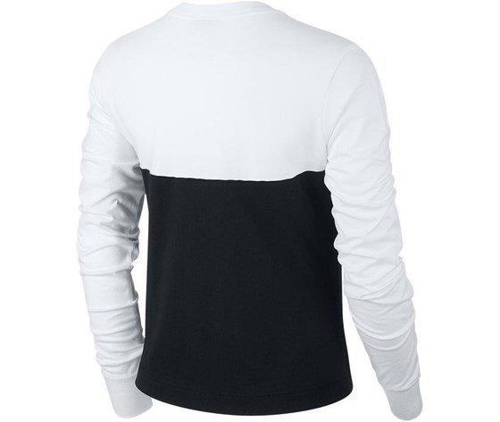 Bv5007 010 nike maglia bianco nero 2