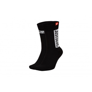 Calze Nike nero Sneaker sox Crew 2 paia Just Do It art. SK0127 010