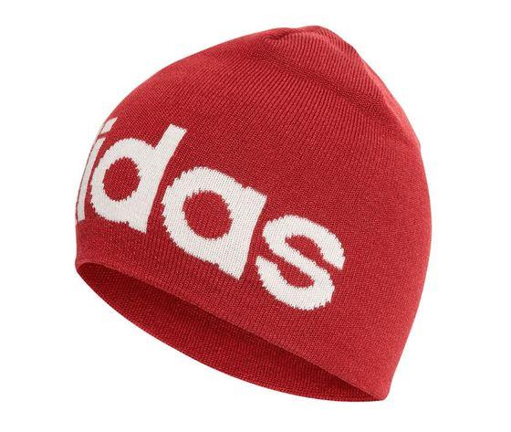 Ed0314 adidad berretto lana rosso logo