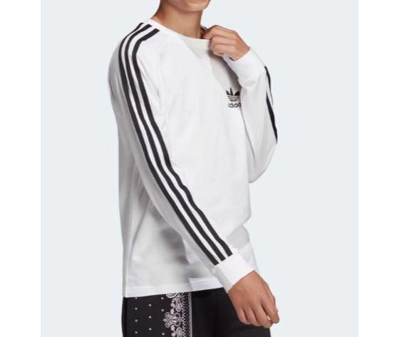 Dw9298 adidas maglia ragazzi bianca 3 stripes 5