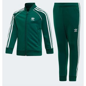 Tuta Adidas verde Track Suit SST bambino art. ED7731