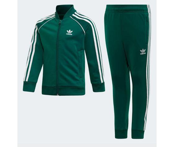 pantaloni tuta adidas verde uomo