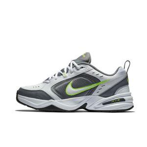 Nike Air Monarch IV bianco grigio giallo fluo scarpe sportive uomo art. 415445 100