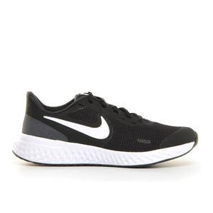 Nike Revolution 5 nero bianco running ragazzi art. BQ5671 003