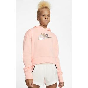 Felpa Nike cropped Rosa Junior sportswear art.CQ4225 697