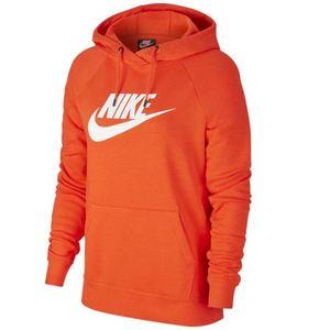 Felpa Nike arancione con cappuccio Essential Hoodie art.BV4126 891