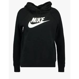 Felpa Nike nero con cappuccio Essential Hoodie art.BV4126 010