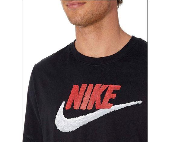 Ar4993 t shirt nike nero bicolore3