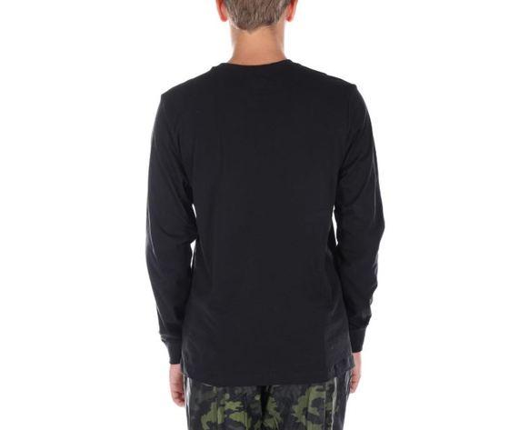 Ar5193 010 maglietta nike maniche lunghe nera2