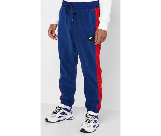 Bv5191 492 pantalone nike air blu rosso3