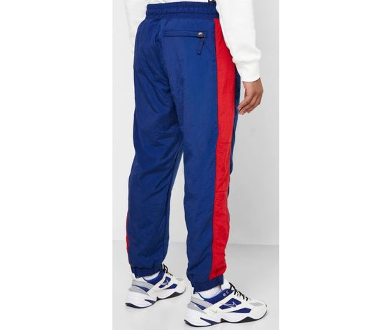 Bv5191 492 pantalone nike air blu rosso4