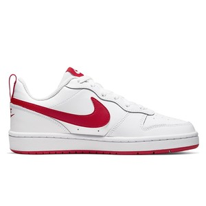 Nike Court Borough Low 2 bianca rossa bambini art.BQ5448 103