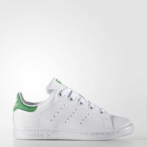 Adidas Stan Smith Classic Originals  Bambini Verde Lacci art. BA8375
