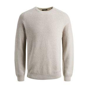 Pullover a maglia girocollo Jack&Jones beige art.12141495 T