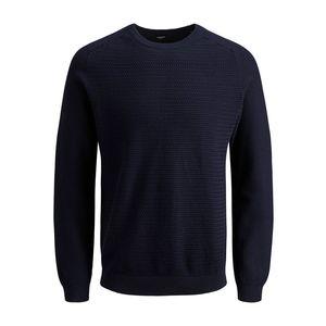 Pullover a maglia girocollo Jack&Jones blu art.12141495 B