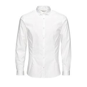 Camicia classica super slim jack&jones bianco art.12097662 B