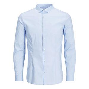 Camicia classica super slim jack&jones celeste art.12097662 C