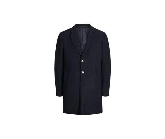 12154382 cappotto monopetto jack and jones blu uomo