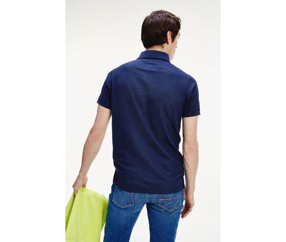 Polo slim fit tommy hilfiger pitch blue art.mw0mw12569 cun 3