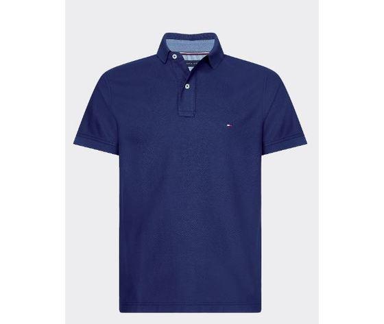 Polo slim fit tommy hilfiger pitch blue art.mw0mw12569 cun 1