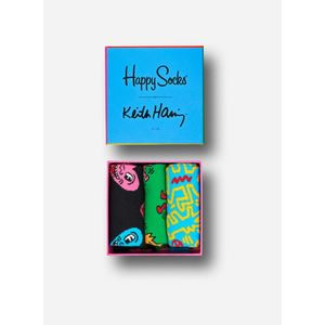 Scatola Happy Socks Keith Haring gift box art.87419H004P 0100
