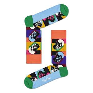 Calze Happy Socks Andy Warhol Skull Sock art.87419A002 0100