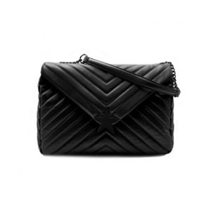 Borsa Shop Art Maxi Borsa in simil pelle nero art.SA020108 0002