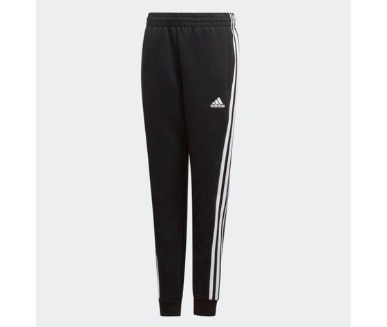 Pantalone adidas must have 3 strisce bianco nero bimbo art %281%29