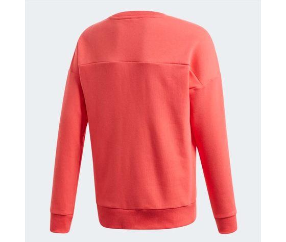 Felpa adidas girocollo must have crew core pink white bimba art %283%29