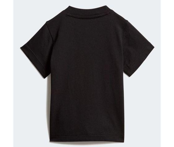 Maglietta adidas trefoil tee bianco nero bimbi art %283%29