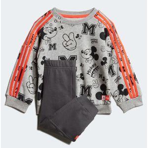 Tuta Adidas Disney Mickey Mouse arancione bambini art.FM2865
