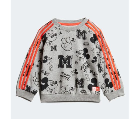 Tuta adidas disney mickey mouse arancione bambini art %283%29