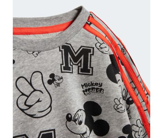 Tuta adidas disney mickey mouse arancione bambini art %281%29