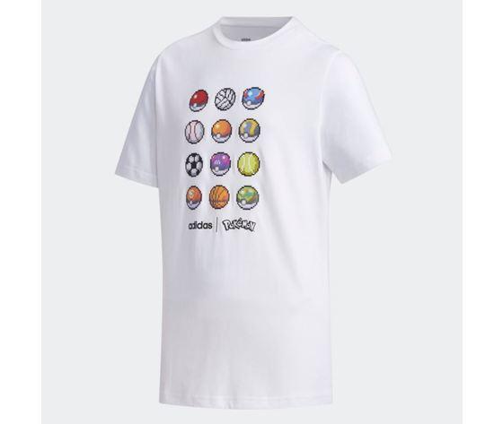 Maglietta adidas pokemon bianca abbigliamento bambini art %282%29