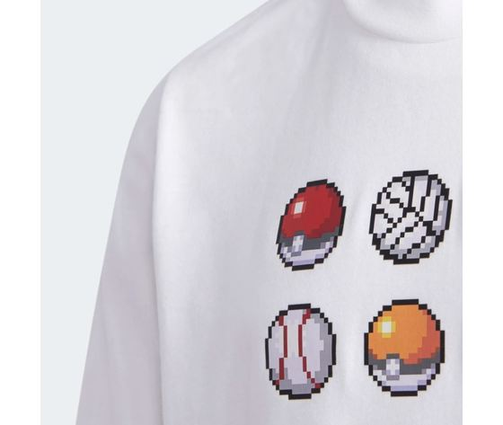 Maglietta adidas pokemon bianca abbigliamento bambini art %284%29