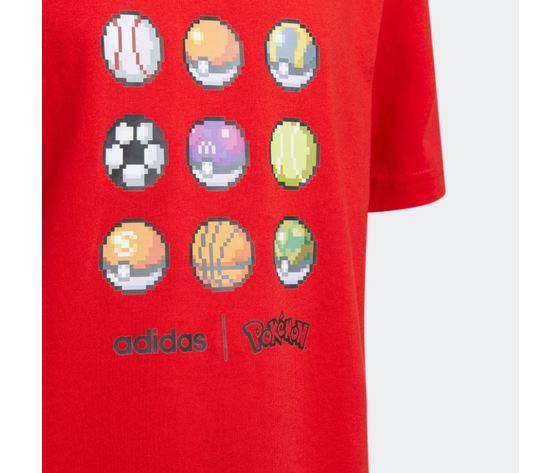 Maglietta adidas pokemon rossa abbigliamento bambini art %284%29