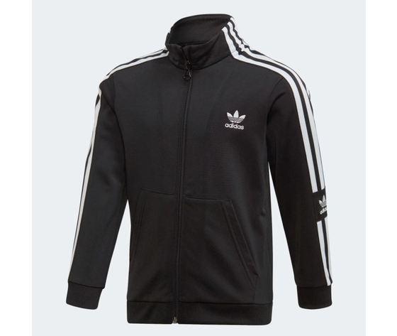 Tuta adidas big trefoil hoodie nero art %283%29