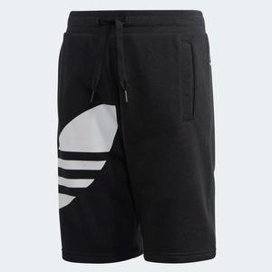 Pantaloncino Adidas Big Trefoil Shorts nero bambini art.FM5655