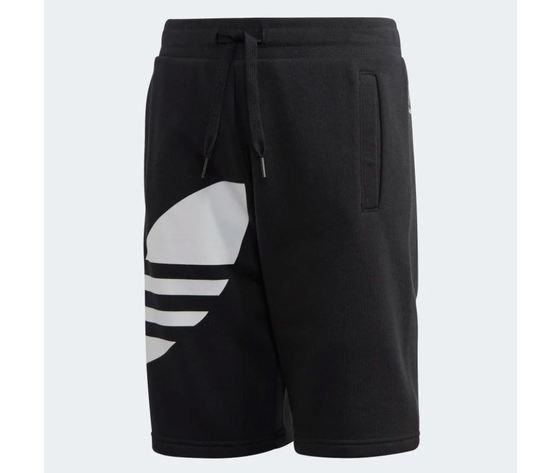 Pantaloncino adidas big trefoil shorts nero bambini art %282%29