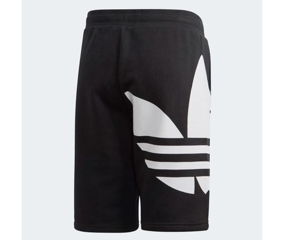 Pantaloncino adidas big trefoil shorts nero bambini art %283%29