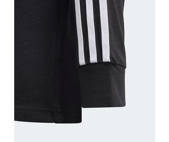 Maglietta a maniche lunghe  adidas 3 stripes nera art %281%29